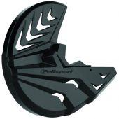 Polisport Disc & Bottom Fork Protector CR250F/CR450F 10-14 - Black