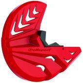 Polisport Disc & Bottom Fork Protector CR250F/CR450F 10-14 - RedCR