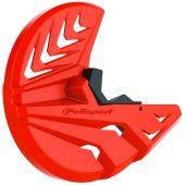 Polisport Disc & Bottom Fork Protector KTM/Husqvarna Old Models-Orange16