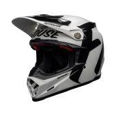 BELL Moto-9 Flex Helmet Fasthouse Newhall Gloss White/Black