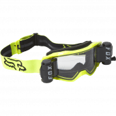 Fox VUE STRAY - ROLL OFF GOGGLE Black Yellow