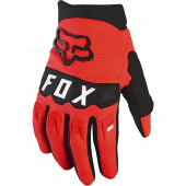 Fox Youth Dirtpaw Glove Fluorescent Red
