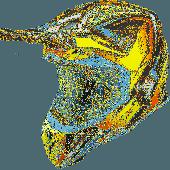 Airoh MX Helmet Aviator 2.3 Fame AMS Yellow Matt