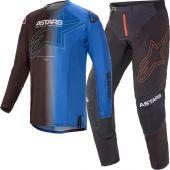 Alpinestars Techstar Phantom Black Blue Gear combo