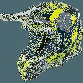 Airoh MX Helmet Aviator 2.3 Bigger AMS Blue Gloss