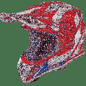 Airoh MX Helmet Aviator 2.3 Bigger AMS Red