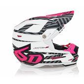 6D Helmet ATR-2Y Havoc Neon Pink/White