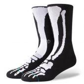 Stance Socks Bones 2 Black