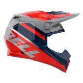 BELL Moto-9 Mips Helmet Prophecy Gloss Infrared/Navy/Gray
