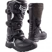Fox Comp 3 Youth Boots - Black
