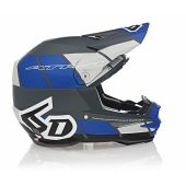 6D Helmet ATR-1 Shear Matte Blue/Grey/Black