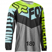 Fox Youth 180 TRICE JERSEY Teal YL