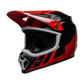 BELL MX-9 Mips Helmet Dash Black/Red
