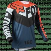 Fox 180 TRICE JERSEY Grey Orange XXL