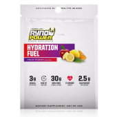 Ryno Power - Hydration Fuel Fruit Punch Electrolyte Drink Mix   Single Serving