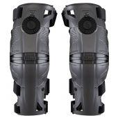 Mobius X8 Kneebraces (Pair) Storm Grey/Black