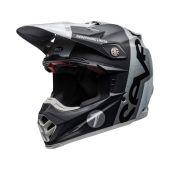 Bell Moto-9 Flex Helmet Seven Galaxy Black Silver