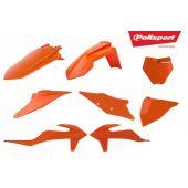 Polisport Plastic Kit SX 19-.. SXF 19-.. Full Orange KTM