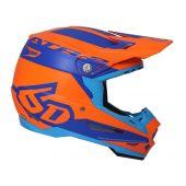 6D Helmet ATR-2 Sector Orange Blue