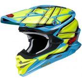 Shoei MX Helmet VFX-WR Glaive TC-2