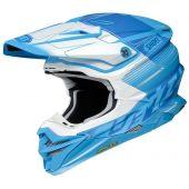 Shoei MX Helmet VFX-WR Zinger TC-2