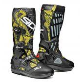 Sidi Atojo SRS Boots Lime Snake Black