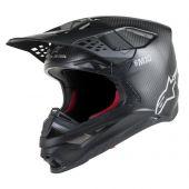 Alpinestars Helmet Supertech SM10 Solid Black Matte Carbon