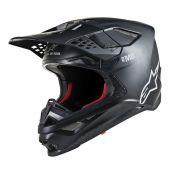Alpinestars Helmet Supertech SM8 Solid Matte Black