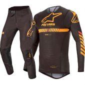 Alpinestars Supertech Black Orange Combo