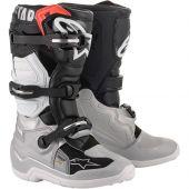 Alpinestars Boots Tech 7 S Black Silver White Gold