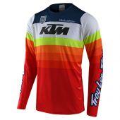 Troy Lee Designs SE Pro Jersey KTM Mirage White Red