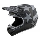 Troy Lee Designs SE4 Polyacrylite Freedom Helmet Black Grey