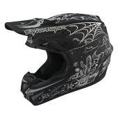 Troy Lee Designs SE4 Carbon Helmet LTD Stranded Black