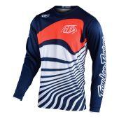 Troy Lee Designs GP Jersey Drift Navy Orange