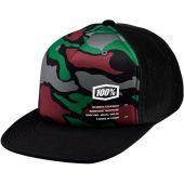 100% Youth Trucker Hat Trooper Camoflage