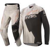 Alpinestars Youth Racer Factory Gray Black Rust Combo