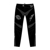 ZULU - ADULT BMX PANT SHIELD BLACK WHITE