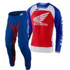 Troy Lee Designs Se Pro Boldor Honda Red Blue Combo